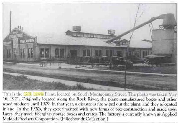 G.B. Lewis company watertown
