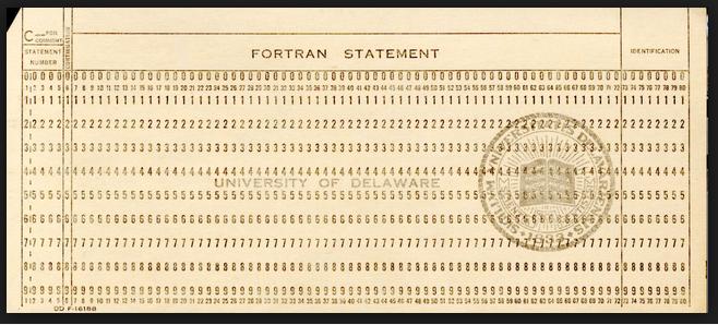 hollerith card