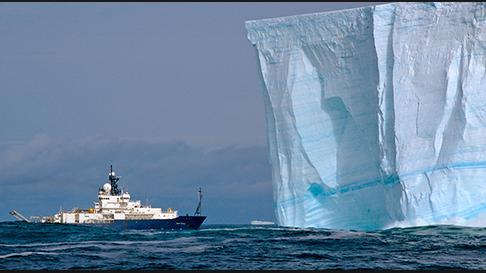 navy south america ice